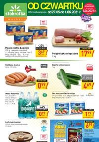 Gazetka promocyjna Stokrotka Market - Oferta handlowa sieci Stokrotka - ważna do 01-06-2021