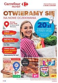 Gazetka promocyjna Carrefour Market - Otwieramy się na nowe oczekiwania - Carrefour Market - ważna do 05-06-2021
