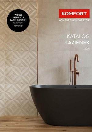 Gazetka promocyjna Komfort - Katalog łazienek 2021 Komfort