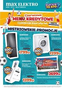 Gazetka promocyjna Max Elektro - Mistrzowskie promocje w Max Elektro