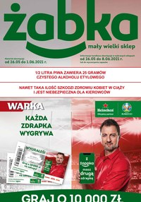 Gazetka promocyjna Żabka - Mały wielki sklep - Żabka - ważna do 08-06-2021