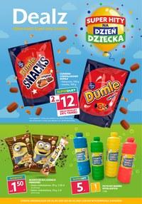Gazetka promocyjna Dealz - Super hity na Dzień Dziecka w Dealz - ważna do 08-06-2021
