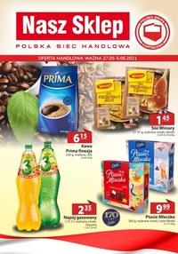Gazetka promocyjna Nasz Sklep - Nasza Sklep - oferta handlowa - ważna do 05-06-2021