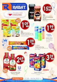 Gazetka promocyjna Rabat - Najlepsze produkty w sklepach Rabat - ważna do 06-06-2021