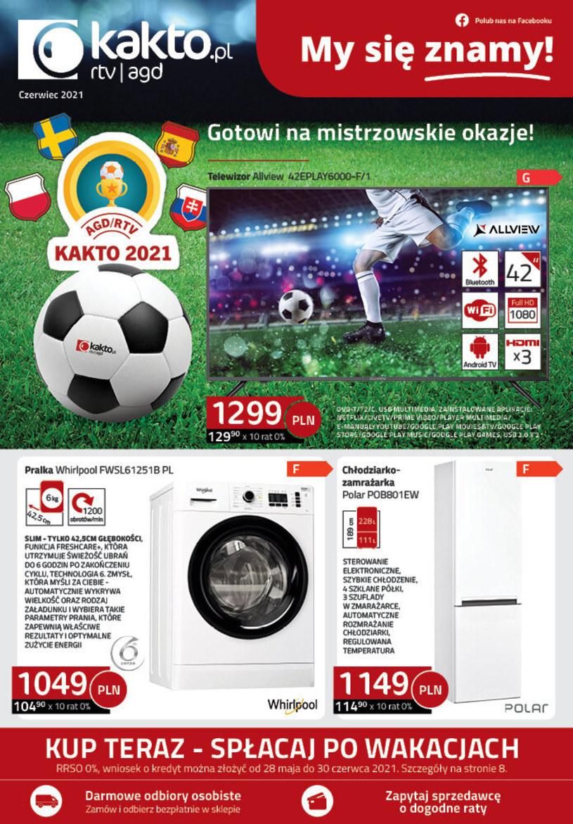 Gazetka promocyjna Kakto.pl - ważna od 01. 06. 2021 do 30. 06. 2021
