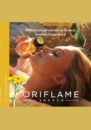 Gazetka promocyjna Oriflame - Odkryj zmysłową Szwecję z Oriflame