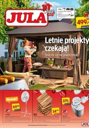 Gazetka promocyjna Jula - Letnie produkty czekają w Jula
