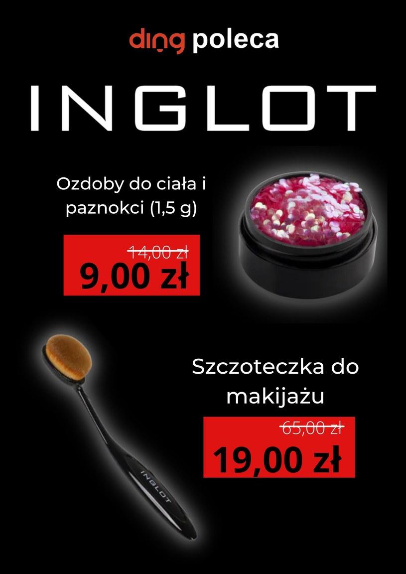 Gazetka promocyjna Inglot - wygasła 3 dni temu