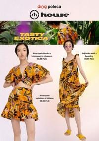 Gazetka promocyjna House - Egzotyczna moda w House   - ważna do 27-06-2021