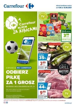 Gazetka promocyjna Carrefour - Odbierz piłkę w Carrefour