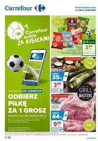Gazetka promocyjna Carrefour - Odbierz piłkę w Carrefour   - ważna do 12-06-2021