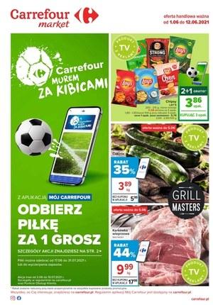 Gazetka promocyjna Carrefour Market - Odbierz piłkę w Carrefour Market