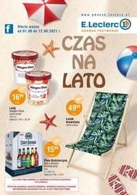 Gazetka promocyjna E.Leclerc - Czas na lato w  E.Leclerc Gdańsk