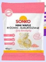 Wafle ryżowe Sonko