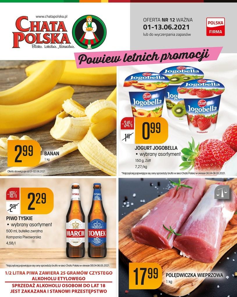 Gazetka promocyjna Chata Polska - wygasła 5 dni temu