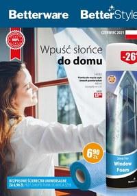 Gazetka promocyjna Betterware - Betterware - wpuść słońce do domu - ważna do 30-06-2021