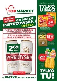 Gazetka promocyjna Top Market - Bliżej i taniej z Top Market!   - ważna do 13-06-2021