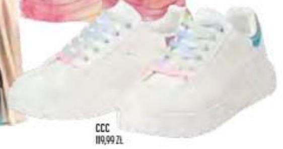 Sneakersy damskie CCC niska cena