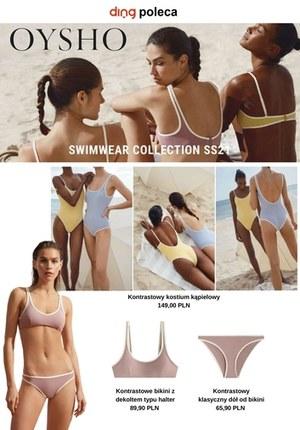 Gazetka promocyjna Oysho - Stroje kąpielowe i odzież plażowa w Oysho