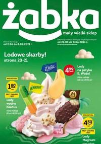 Gazetka promocyjna Żabka - Lodowe skarby w Żabce - ważna do 08-06-2021