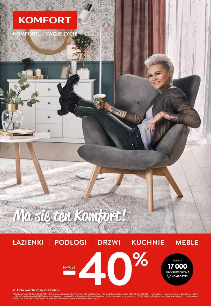 Gazetka promocyjna Komfort - ważna od 02. 06. 2021 do 06. 07. 2021