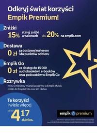 Gazetka promocyjna EMPiK - Tomy kultury w EMPiK