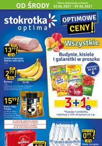 Gazetka promocyjna Stokrotka Optima - Stokrotka Optima - czerwcowe promocje - ważna do 09-06-2021