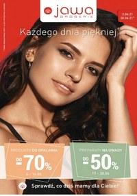 Gazetka promocyjna Jawa Drogerie - Kosmetyki na lato Jawa