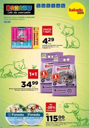 Gazetka promocyjna Kakadu - Rabaty dla zwierzaków w Kakadu