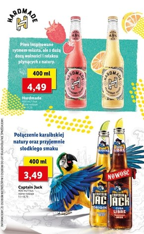 Katalog piw Lidl