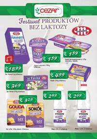 Gazetka promocyjna Delikatesy CEZAR - Promocje w sklepach Delikatesy