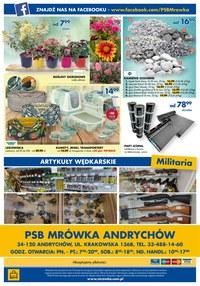 Gazetka promocyjna PSB Mrówka - Zobacz okazje w PSB Mrówka Andrychów