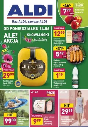 Gazetka promocyjna Aldi - Aldi - słowiański tydzień!