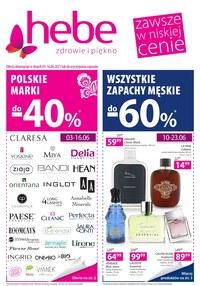 Gazetka promocyjna Hebe - Hebe - zdrowie i piękno - ważna do 16-06-2021