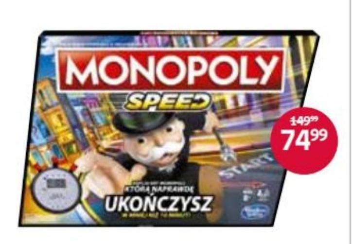 Gra planszowa Monopoly niska cena