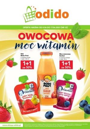 Gazetka promocyjna Odido - Owocowa moc witamin w Odido
