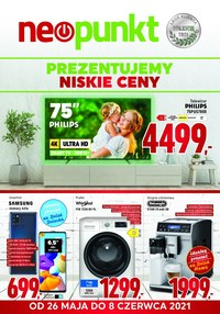 Gazetka promocyjna NEOPUNKT - Neopunkt prezentuje niskie ceny  - ważna do 08-06-2021