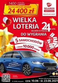 Gazetka promocyjna Selgros Cash&Carry - Wielka Loteria w Selgors Cash&Carry! Oferta spożywcza