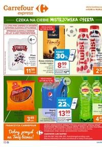 Gazetka promocyjna Carrefour Express - Mistrzowska oferta w Carrefour Express
