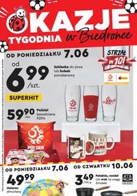 Gazetka promocyjna Biedronka - Okazje tygodnia w Biedronce - ważna do 23-06-2021
