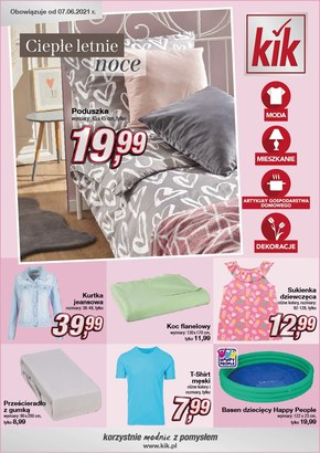 KIK - odzież na lato w niskich cenach!