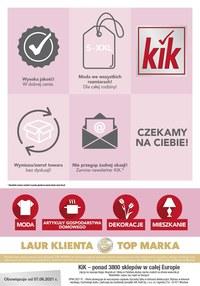 Gazetka promocyjna KIK - KIK - odzież na lato w niskich cenach!