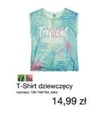 T-shirt dziewczęcy KIK