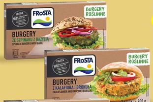 Burger roślinny Frosta niska cena