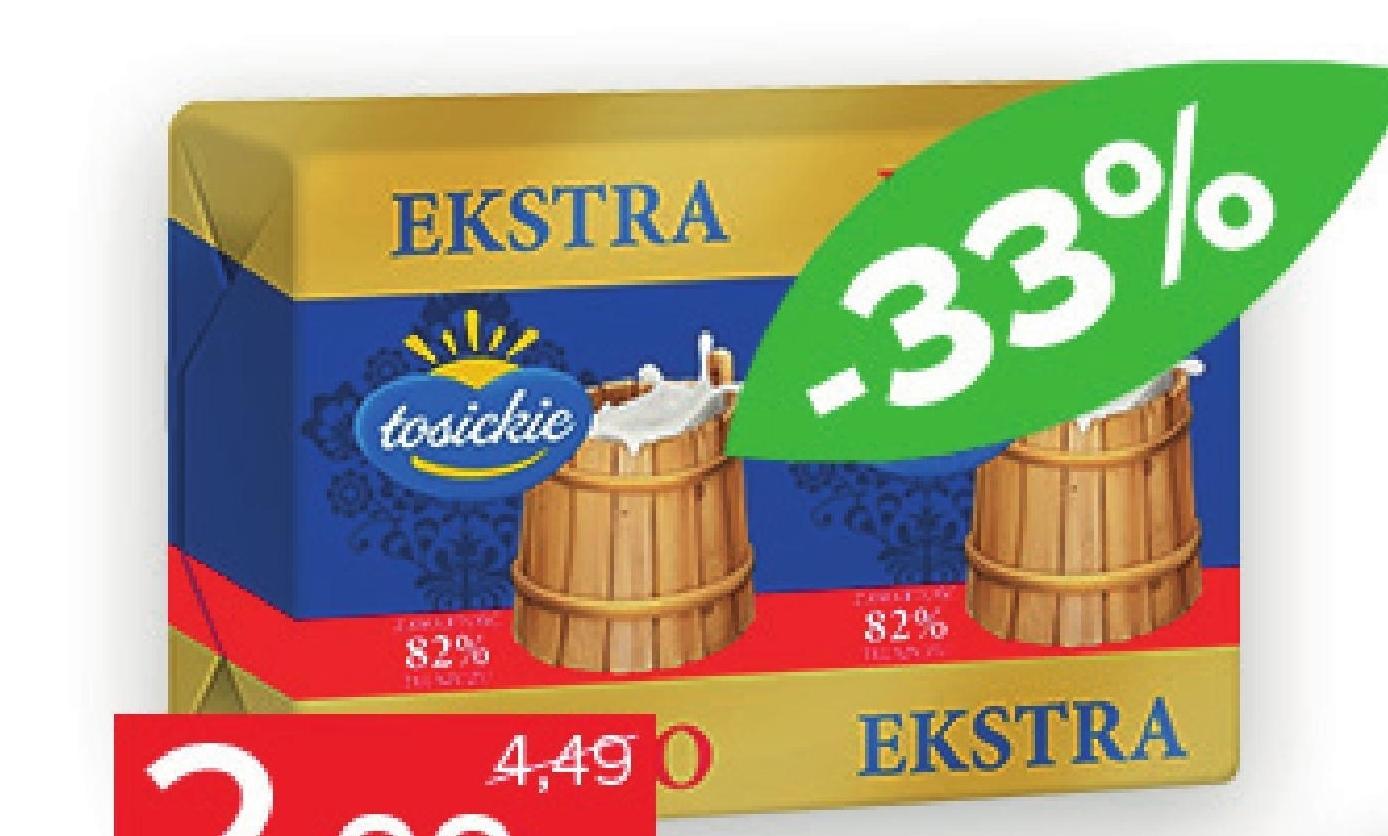 Masło Łosickie niska cena