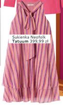 Sukienka damska Tatuum niska cena