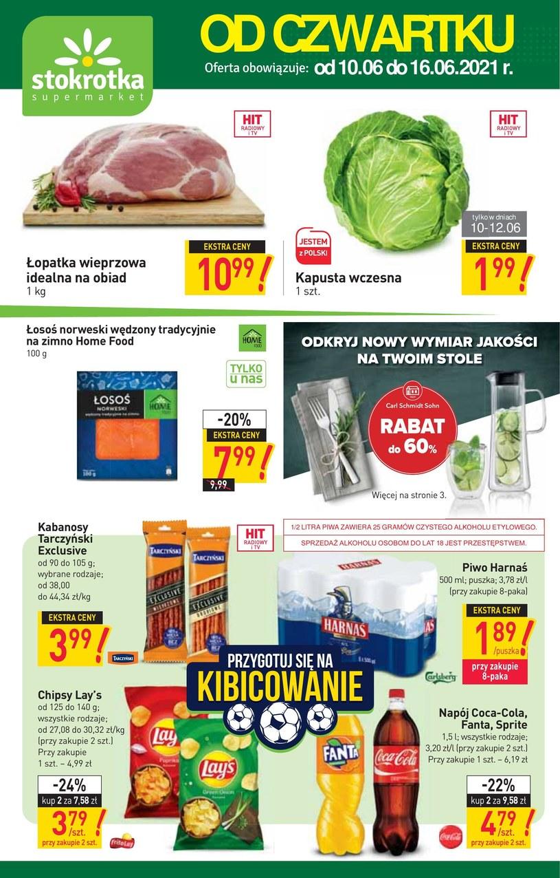 Gazetka promocyjna Stokrotka Supermarket - ważna od 10. 06. 2021 do 16. 06. 2021