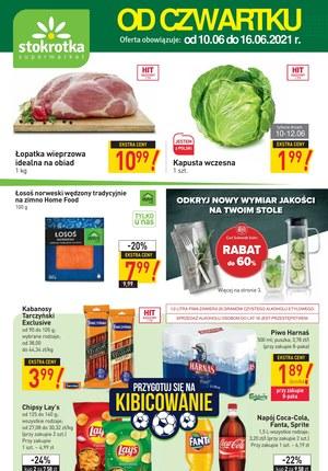 Gazetka promocyjna Stokrotka Supermarket - Oferta handlowa sieci Stokrotka