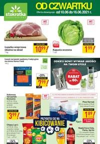 Gazetka promocyjna Stokrotka Supermarket - Oferta handlowa sieci Stokrotka - ważna do 16-06-2021