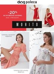 Sukienki taniej w Mohito!